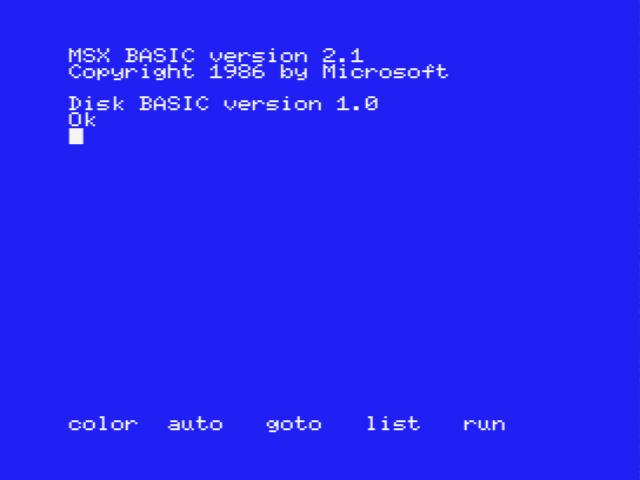 MSX BASIC