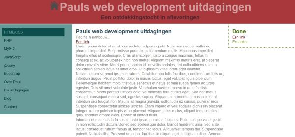 Web development uitdagingen